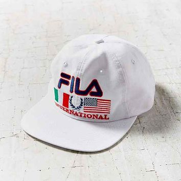 Vintage FILA International Hat