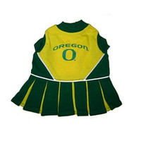 Oregon Cheerleader Dog Dress