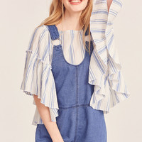 BDG Lucy Shortall O-Ring Overall   Urban Outfitters