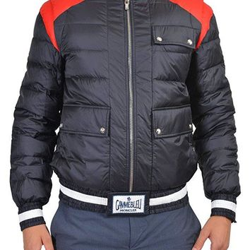 Moncler Gamme Bleu Men's Multi-Color Full Zip Down Parka Jacket