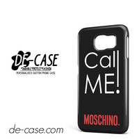 Call Me Moschino DEAL-2229 Samsung Phonecase Cover For Samsung Galaxy S6 / S6 Edge / S6 Edge Plus