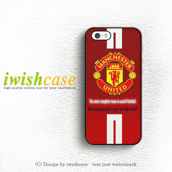 Manchester United Logo iPhone 5 5S 5C Case Cover