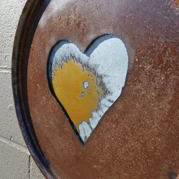 One Heart: Salvaged Wall Art