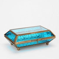 Urban Outfitters - Etched Glass Jewelry Box
