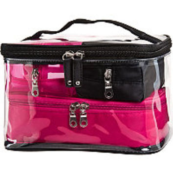 Cosmetic Bags & Train Cases Basics Black 4 Pc Train Case Set Ulta.com - Cosmetics, Fragrance, Salon and Beauty Gifts