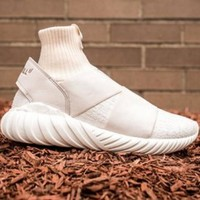Adidas Tubular Defiant X Overkill Trending Women Men Knit Hight Tops Sports Running Shoes Sneakers I