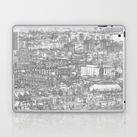 Leeds City Drawing Laptop & iPad Skin by Karl Wilson Photography