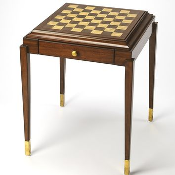 Adrian Antique Cherry Game Table
