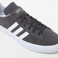adidas Campus Vulc II Grey and White Shoes at PacSun.com