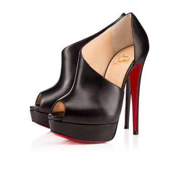 VERITA CALF LUX, BLACK, Calf, Women Shoes, Louboutin.
