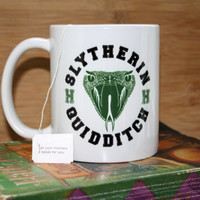 Slytherin Quidditch - Coffee Mug - Harry Potter Mug
