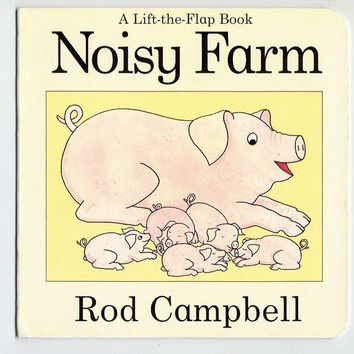 Noisy Farm Board book – Illustrated, June 1, 2005