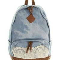 Bluebird Denim Backpack - Backpack (3158913)