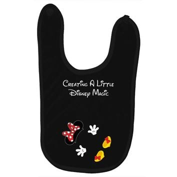 Creating A Little Disney Magic Minnie Mouse Baby Bibs