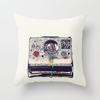 COLOR BLINDNESS Throw Pillow by Chalermphol Harnchakkham