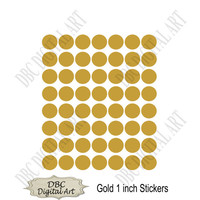 Gold printable round stickers, gold labels, gold tag, gold stickers, printable sticker, planner sticker, scrapbooking, Instant download