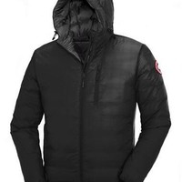 Canada goose Men Winter to keep warm short Hooded down jacket