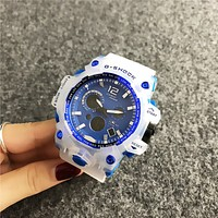 BLUE Casio G-SHOCK Sport Analog Dive Watch for Women Men Gift