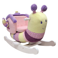 Softly Snail Infant Rocker