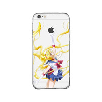 Sailor Moon Poster iPhone 6 Clear Case