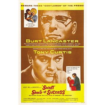 Sweet Smell of Success Poster//Sweet Smell of Success Movie Poster//Movie Poster//Poster Reprint//Home Decor//Wall Decor