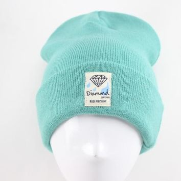 Perfect Diamond Supply Co rain or shine beanies Women Men Hip hop Beanies Winter Knit Hat Cap