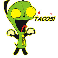 Gir Loves Tacos by OBEY ZOMBIE