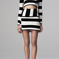 Staggered Stripe Pullover by Thakoon Addition - Moda Operandi