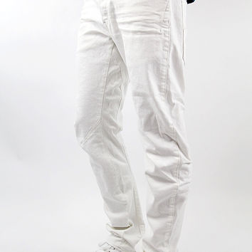 G-STAR RAW Arc 3D Slim Inza White Stretch Denim