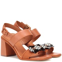 Delaney leather sandals