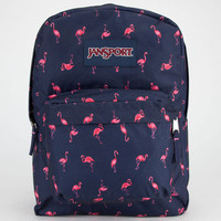 Jansport Superbreak Backpack Navy Moonshine/Pink Flamingo One Size For Men 22383121101