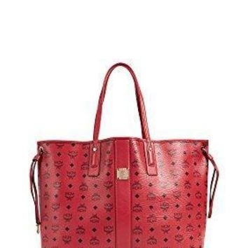 Mcm Women's Large Liz Shopper Tote