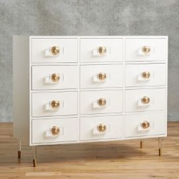 Tracey Boyd Lacquered Regency Three-Drawer Dresser