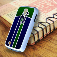 Blue Green Seattle Seahawks Samsung Galaxy S4 Case