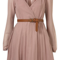 Belted Long Sleeve Dress by Rare** - New In This Week - New In - Topshop USA