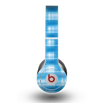 The Overlapping Blue Woven Skin for the Beats by Dre Original Solo-Solo HD Headphones