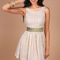 Swing Low Dress - Lace Dresses at Pinkice.com