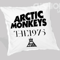 Arctic Monkeys the 1975 The Fall Out Boy Pillow Cover