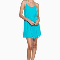 ShopSosie Style : Simply Chic Dress in Teal