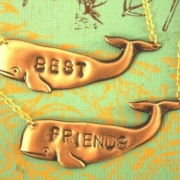 Best Friends Necklaces by iadornu on Etsy