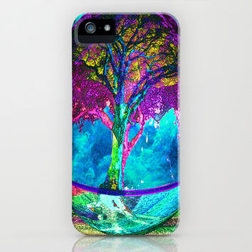 Tree of Life Meditation iPhone & iPod Case by TreeofLifeShop