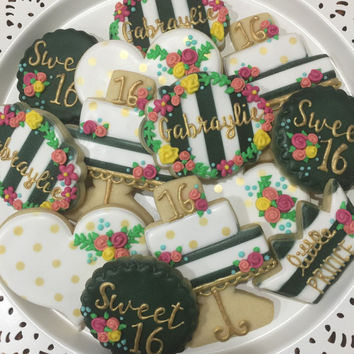 Sweet 16/ Birthday Cookies