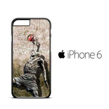 DCKL9 Michael jordan slam dunk carbonite V0979 iPhone 6 Case