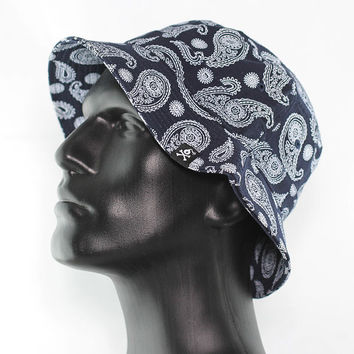 SB Paisley Bucket Hat