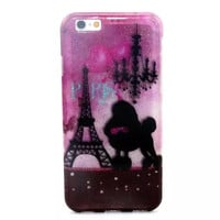 Paris Twinkle Silicagel creative case Cover for iPhone & Samsung Galaxy