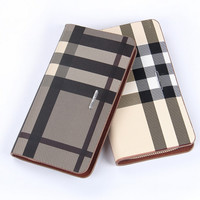 Leather clutch bag purse handbag phone business casual mixed batch single double zippers casual