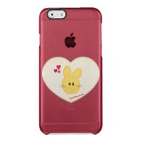 Cute Some Bunny to Love Heart Motif Uncommon Clearly™ Deflector iPhone 6 Case