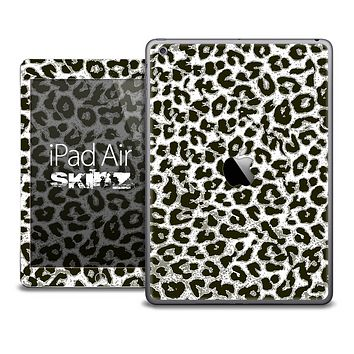 The Black Leopard Print Skin for the iPad Air