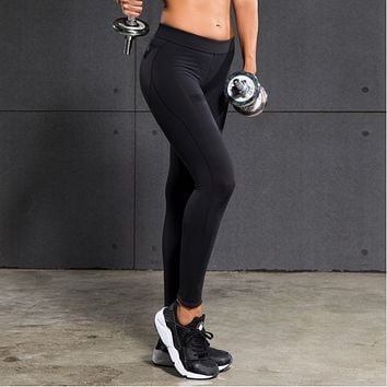 Women Sexy Hips Push Up Leggings