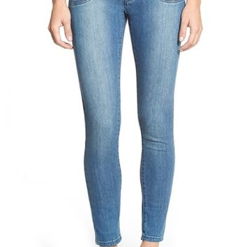 Women's MICHAEL Michael Kors Stretch Zip Pocket Ankle Skinny Jeans ,